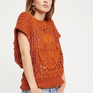 FREE PEOPLE DIAMOND IN THE ROUGH SWEATER